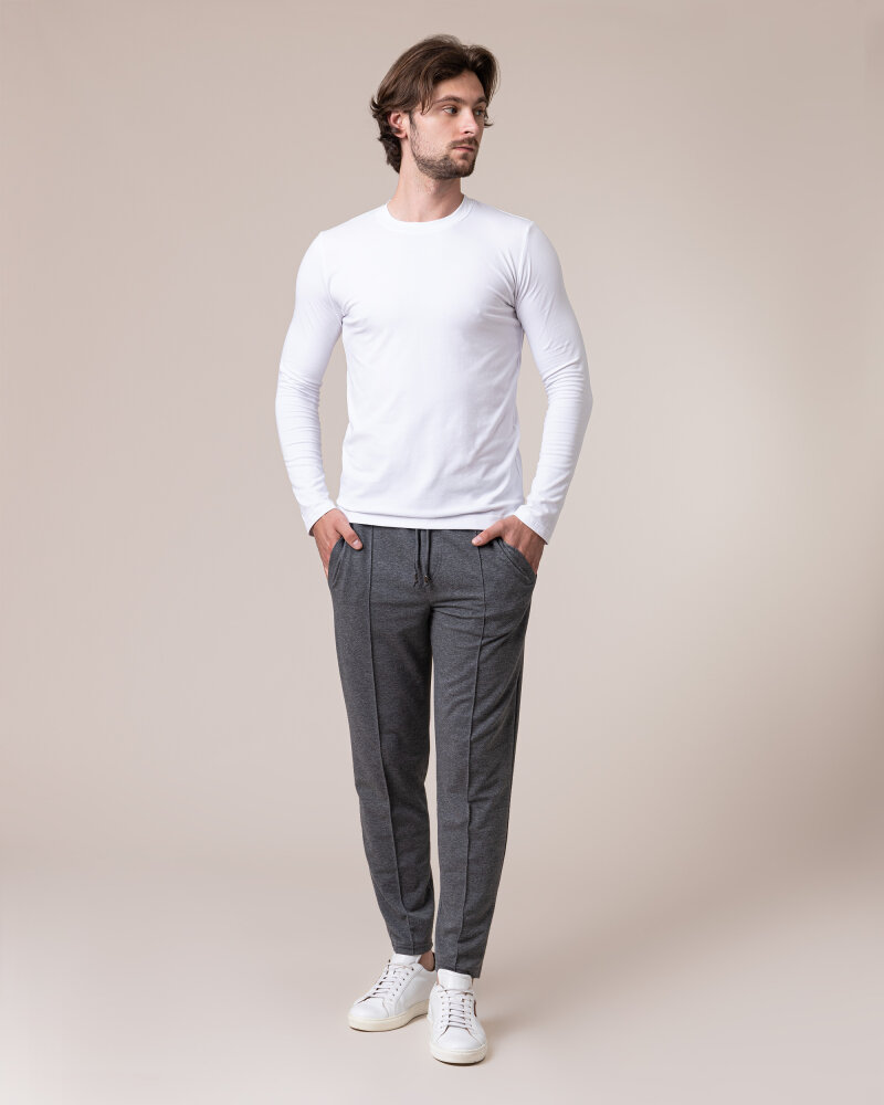 T-Shirt Philip Louis NOS_M-TSH-0044 NOS_WHITE biały - fot:5