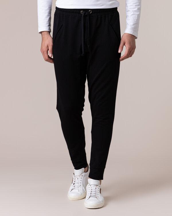 Spodnie Philip Louis NOS_M-TRO-0033A_BLACK czarny