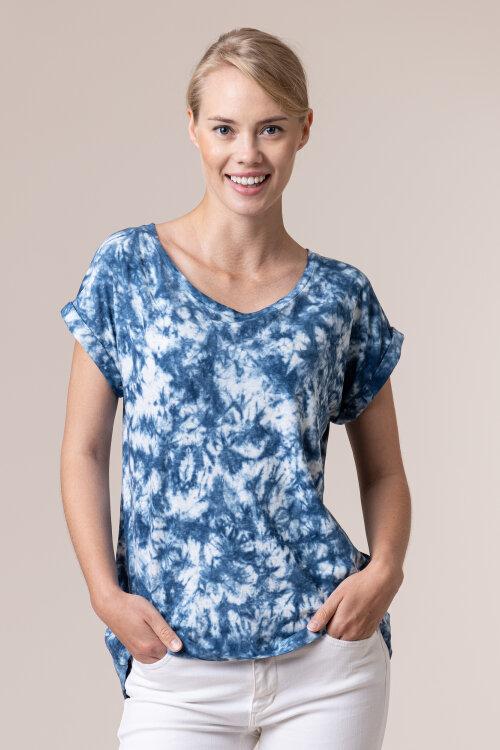 T-Shirt Bomboogie TW6408_JSNT_220 niebieski