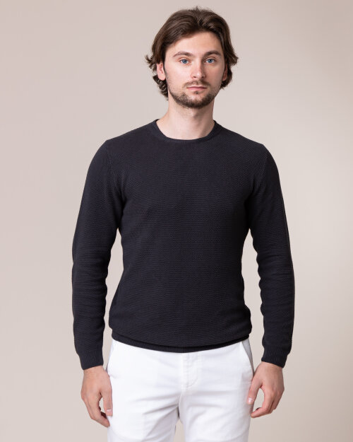 Sweter Daniele Fiesoli DF0128_0012 ciemnoszary