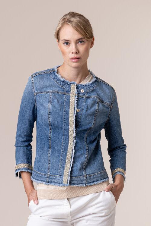 Kurtka Trussardi Jeans 56H00077_1T003884_U120 niebieski