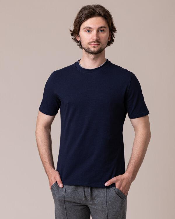 T-Shirt Philip Louis NOS_M-TSH-0033 NOS_NAVY granatowy