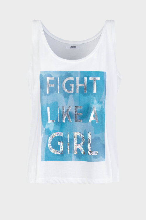 T-Shirt Bomboogie TW6407_JSEL_01 biały