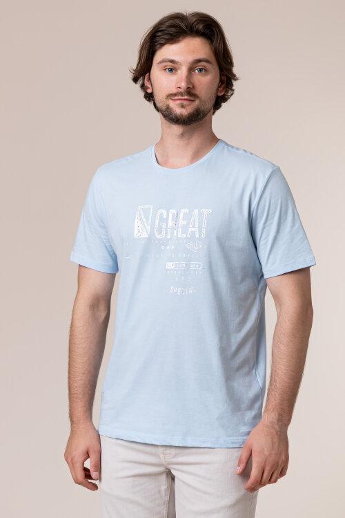 T-Shirt Campione 5097234_111130_83100 niebieski