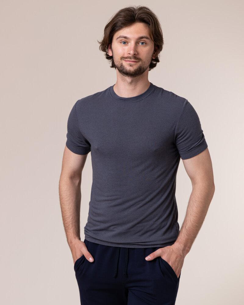 T-Shirt Philip Louis NOS_M-TSH-0035 NOS_GREY grafitowy - fot:2