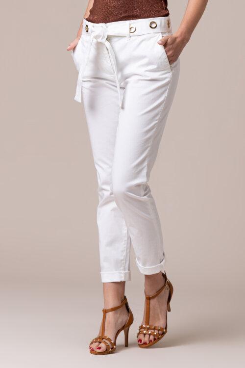 Spodnie Trussardi Jeans 56P00001_1T003760_W001 biały