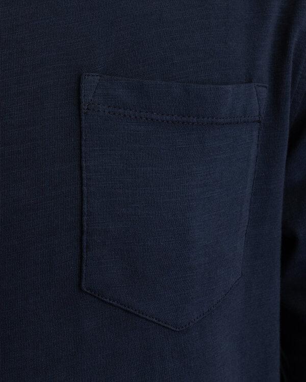 T-Shirt Gas 98366_KAZUKI M/L POCKET_0194 granatowy
