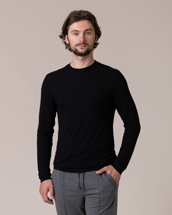 T-Shirt Philip Louis NOS_M-TSH-0036 NOS_BLACK czarny