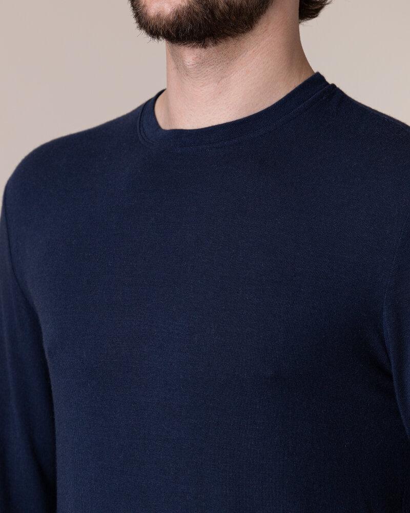 T-Shirt Philip Louis NOS_M-TSH-0036 NOS_NAVY granatowy - fot:3