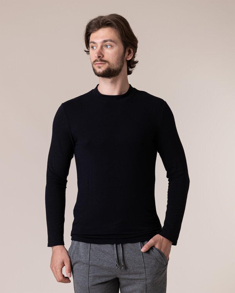 T-Shirt Philip Louis NOS_M-TSH-0040 NOS_BLACK czarny - fot:2
