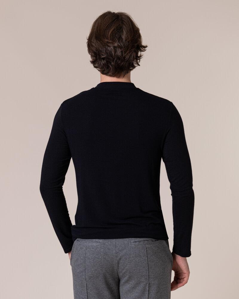 T-Shirt Philip Louis NOS_M-TSH-0040 NOS_BLACK czarny - fot:4