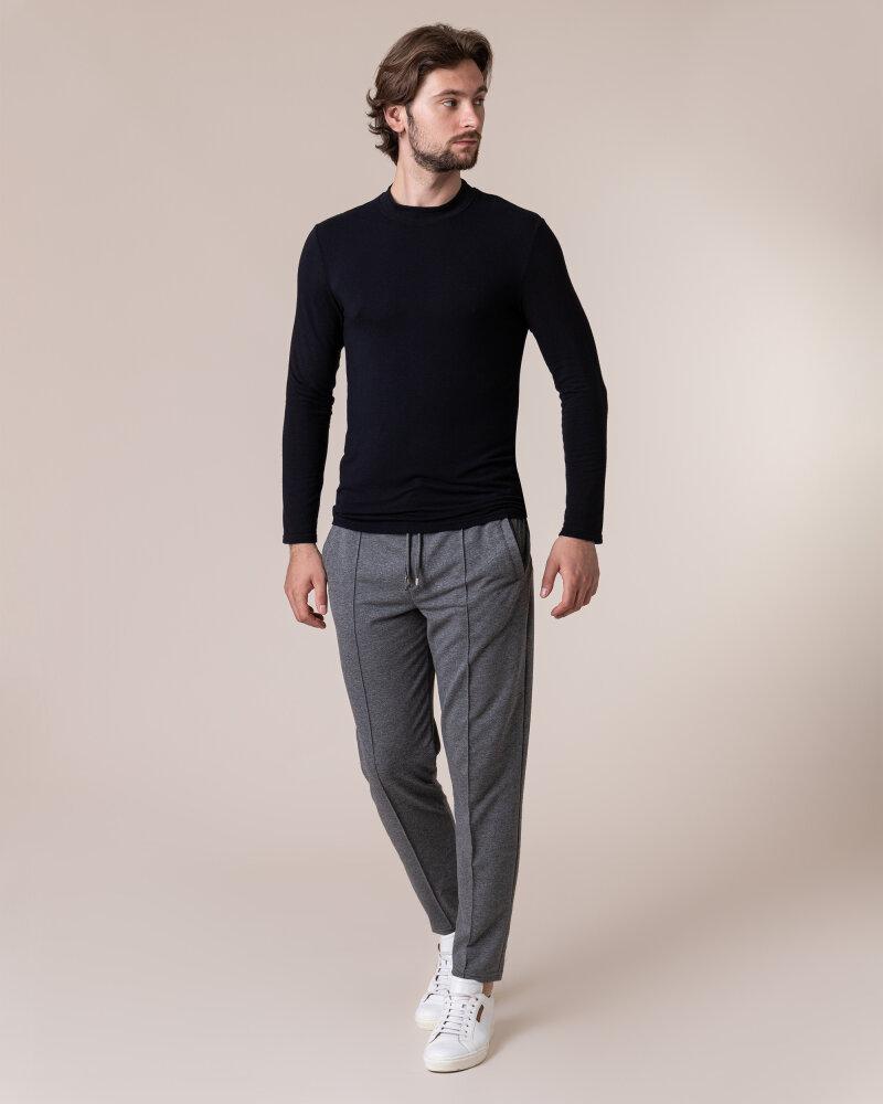 T-Shirt Philip Louis NOS_M-TSH-0040 NOS_BLACK czarny - fot:5