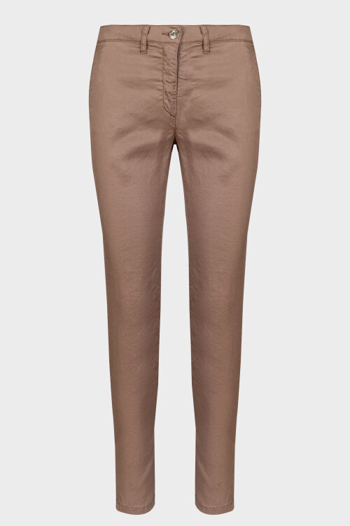 Spodnie Trussardi Jeans 56P00001_1T003758_P122 beżowy