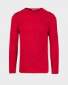 Sweter Knowledgecotton Apparel 80542_1293 czerwony