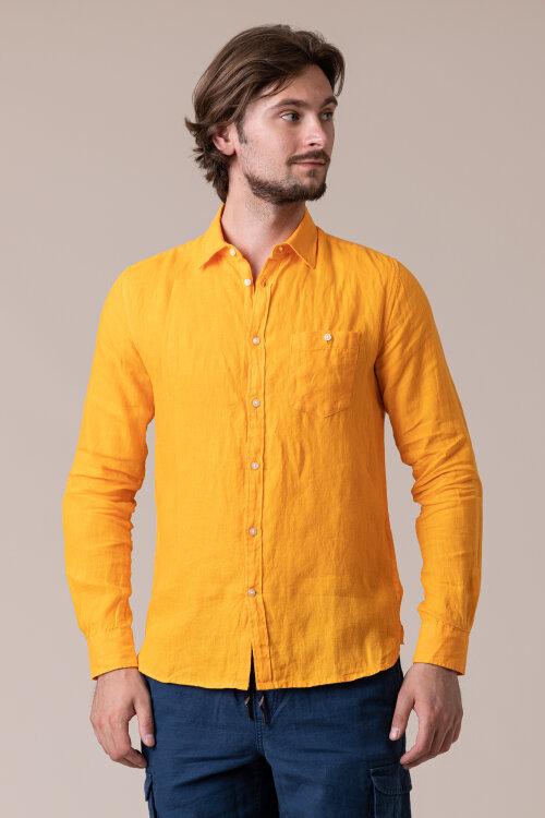 Koszula Knowledgecotton Apparel 90550_1306 pomarańczowy