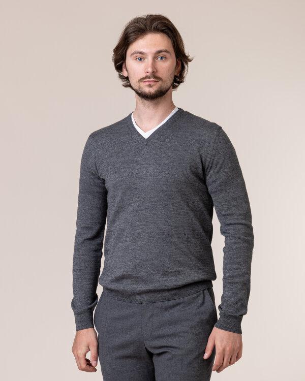 Sweter Philip Louis NOS_02/5/DGR NOS_DK.GRAY szary
