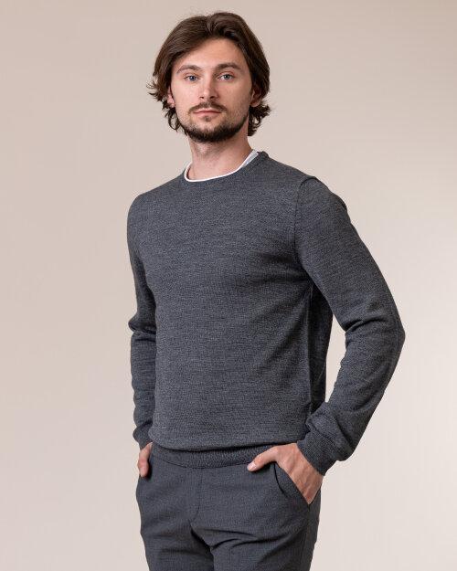 Sweter Philip Louis NOS_01/5/DGR NOS_DK.GRAY szary