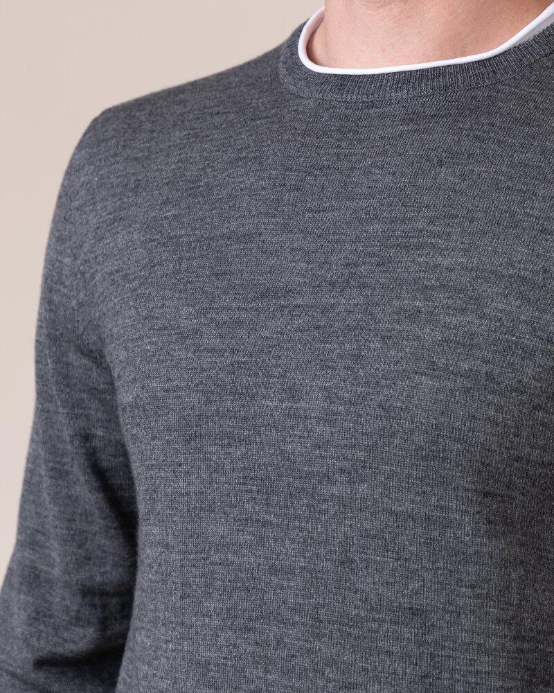 Sweter Philip Louis NOS_01/5/DGR NOS_DK.GRAY szary - fot:3