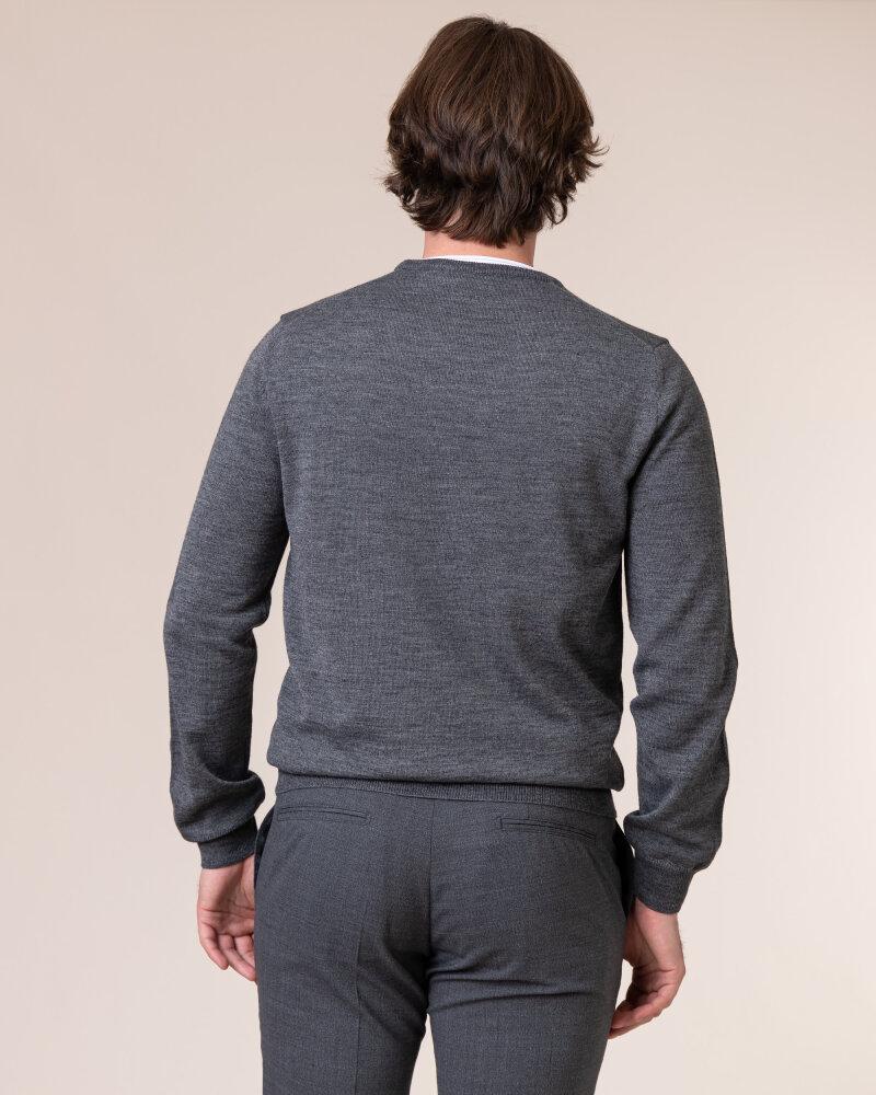 Sweter Philip Louis NOS_01/5/DGR NOS_DK.GRAY szary - fot:4