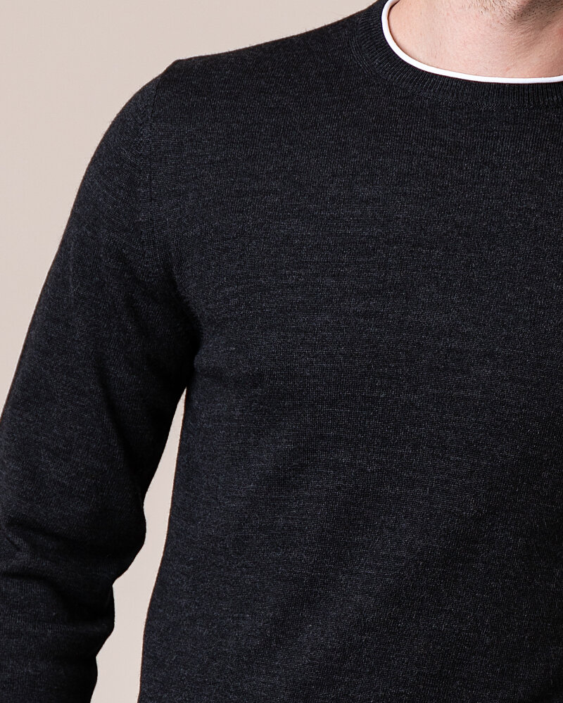Sweter Philip Louis NOS_01/5/ANT NOS_ANTRACITE ciemnoszary - fot:3