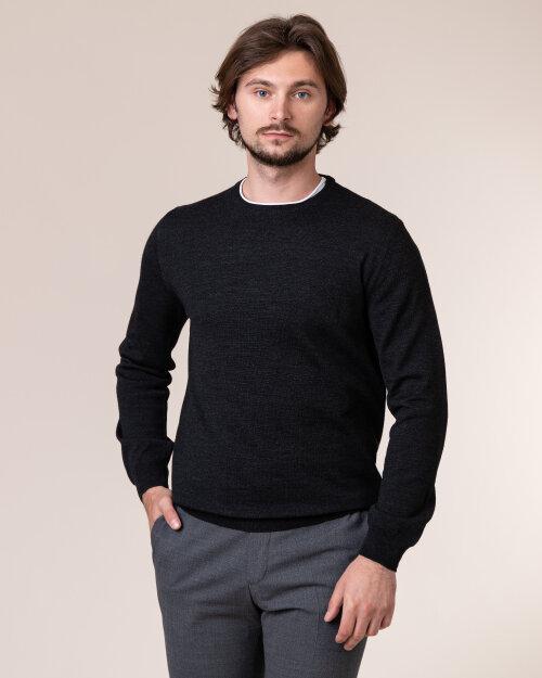 Sweter Philip Louis NOS_01/5/ANT NOS_ANTRACITE szary