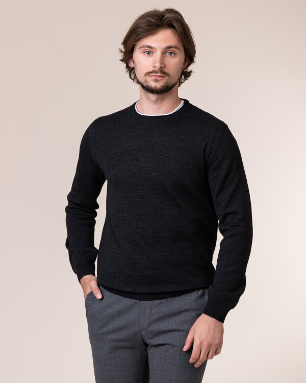 Sweter Philip Louis NOS_01/5/ANT NOS_ANTRACITE ciemnoszary