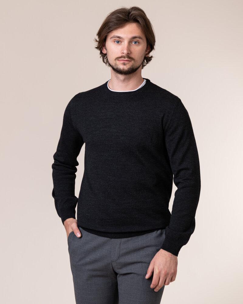 Sweter Philip Louis NOS_01/5/ANT NOS_ANTRACITE ciemnoszary - fot:2