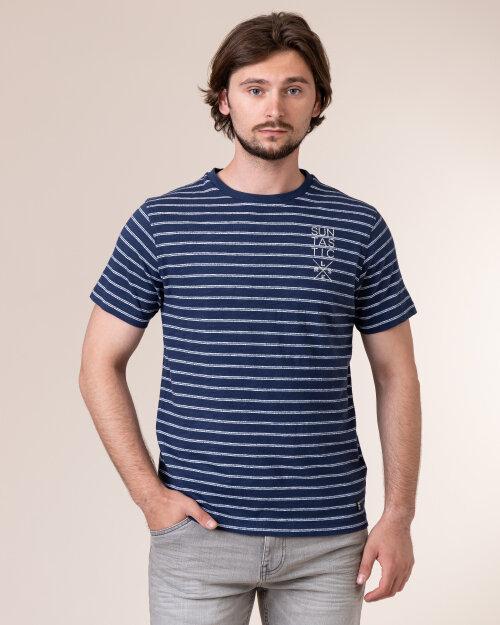 T-Shirt Lerros 2043071_474 Granatowy Lerros 2043071_474 granatowy