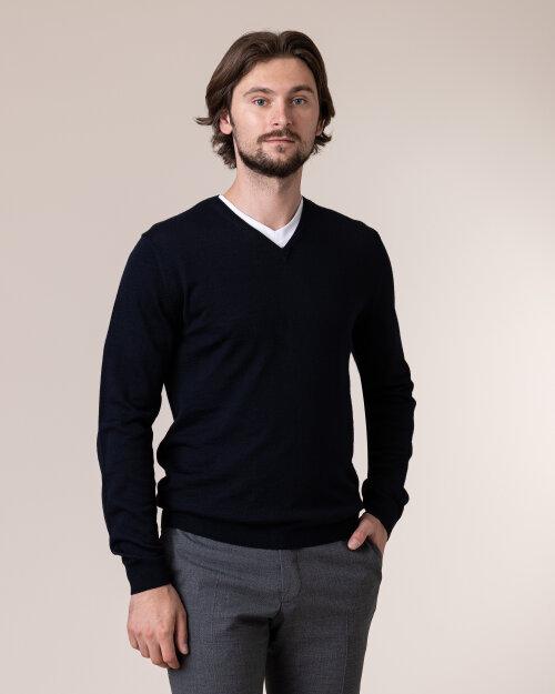 Sweter Philip Louis NOS_02/5/NAV NOS_NAVY granatowy