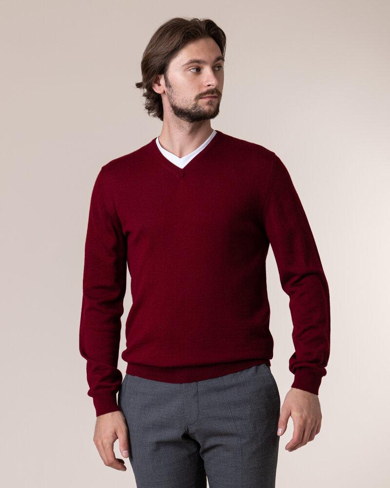 Sweter Philip Louis NOS_02/5/BOR NOS_BORDO bordowy - fot:2
