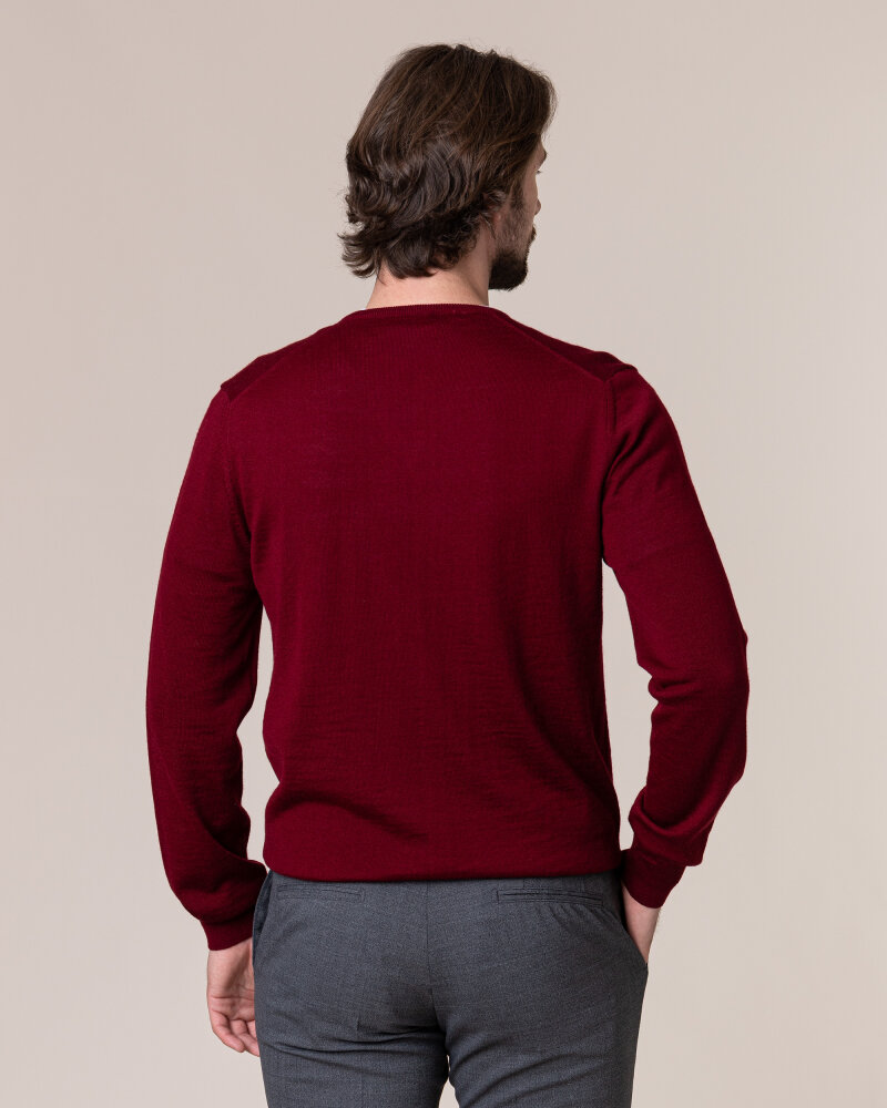 Sweter Philip Louis NOS_02/5/BOR NOS_BORDO bordowy - fot:4