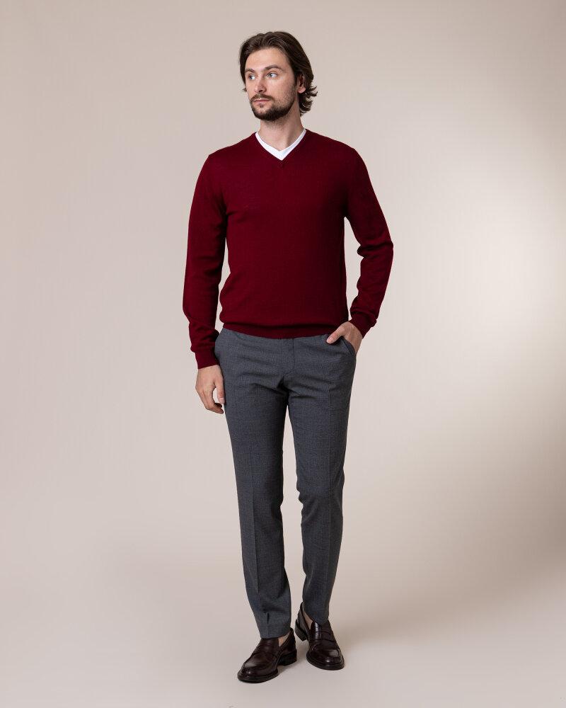 Sweter Philip Louis NOS_02/5/BOR NOS_BORDO bordowy - fot:5