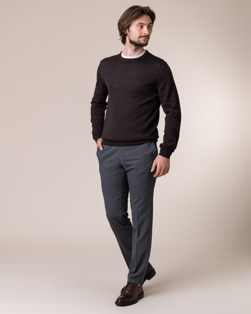 Sweter Philip Louis NOS_01/5/BRN NOS_BROWN brązowy - fot:5