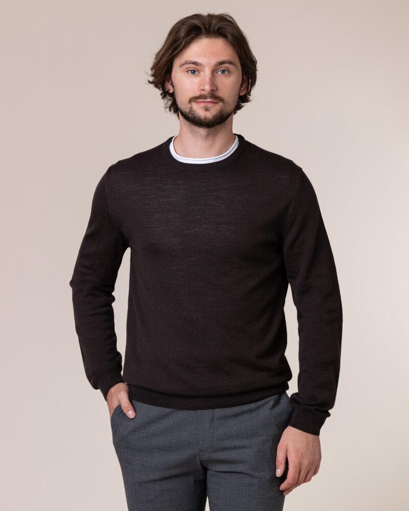 Sweter Philip Louis NOS_01/5/BRN NOS_BROWN brązowy - fot:2