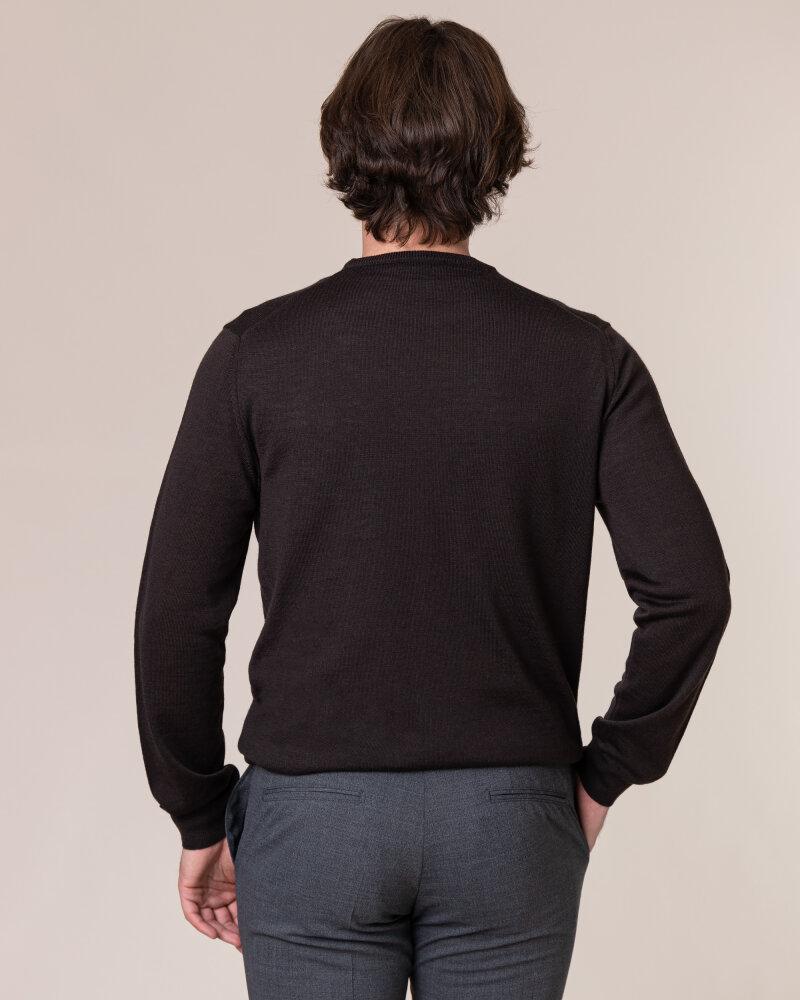 Sweter Philip Louis NOS_01/5/BRN NOS_BROWN brązowy - fot:4