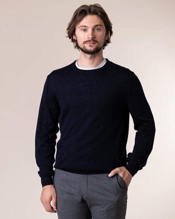 Sweter Philip Louis NOS_01/5/NAV NOS_NAVY granatowy