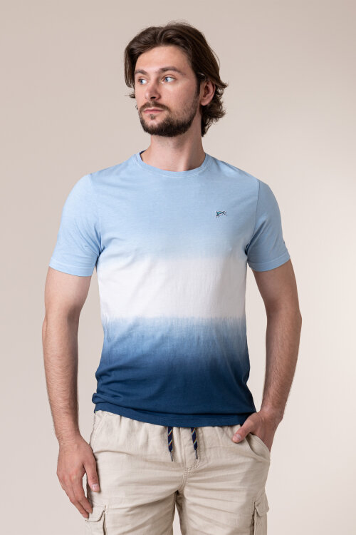 T-Shirt Colours & Sons 9120-410_914 SKY DEEP SEA niebieski