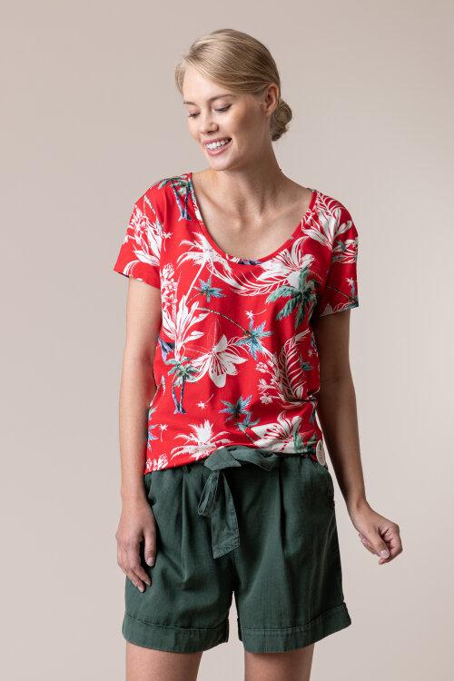 T-Shirt Femi Stories B-LANDA_TRP czerwony