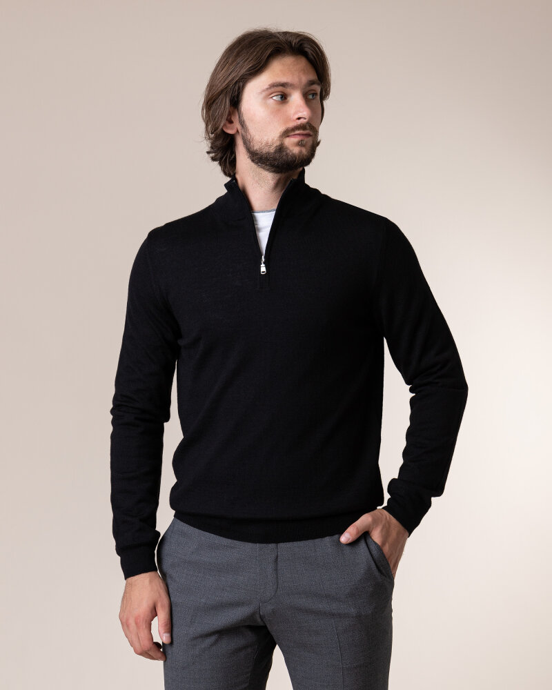 Sweter Philip Louis NOS_03/5/BLK NOS_BLACK czarny - fot:2