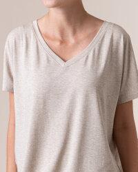 T-Shirt Fraternity WL20_W-TSH-0061_BEIGE beżowy- fot-2