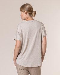 T-Shirt Fraternity WL20_W-TSH-0061_BEIGE beżowy- fot-4