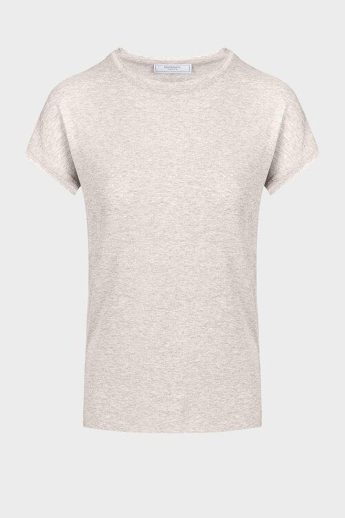 T-Shirt Fraternity Wl20_W-Tsh-0069_Beige Beżowy Fraternity WL20_W-TSH-0069_BEIGE beżowy