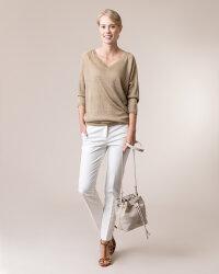 Torba Trussardi Jeans 75B00880_9Y099999_W200 beżowy- fot-3