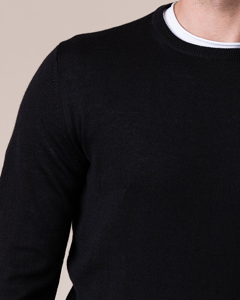 Sweter Philip Louis NOS_01/5/BL NOS_BLACK czarny - fot:3