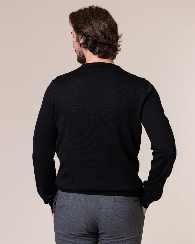 Sweter Philip Louis NOS_01/5/BL NOS_BLACK czarny - fot:4