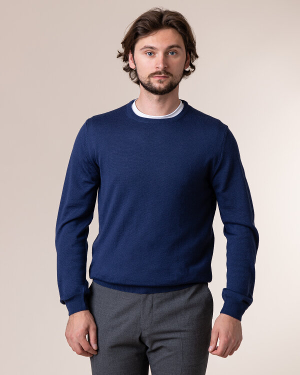 Sweter Philip Louis NOS_01/5/JEA NOS_JEANS niebieski
