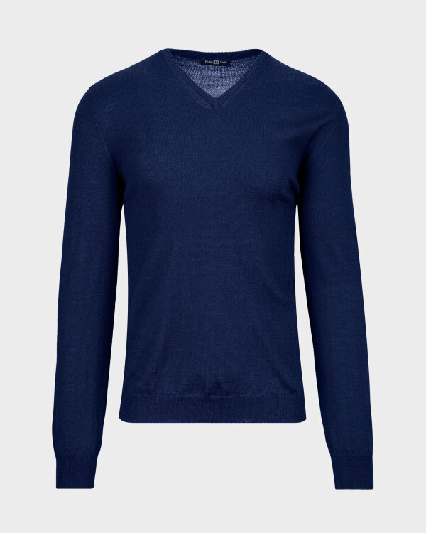 Sweter Philip Louis NOS_02/5/JEA NOS_JEANS szafirowy