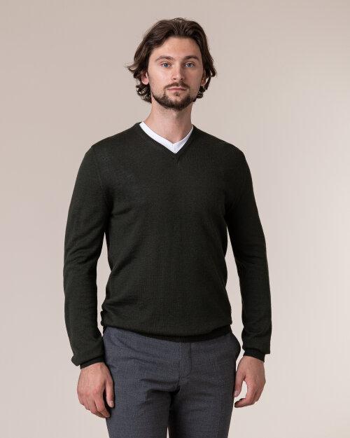 Sweter Philip Louis NOS_02/5/GRE NOS_GREEN zielony