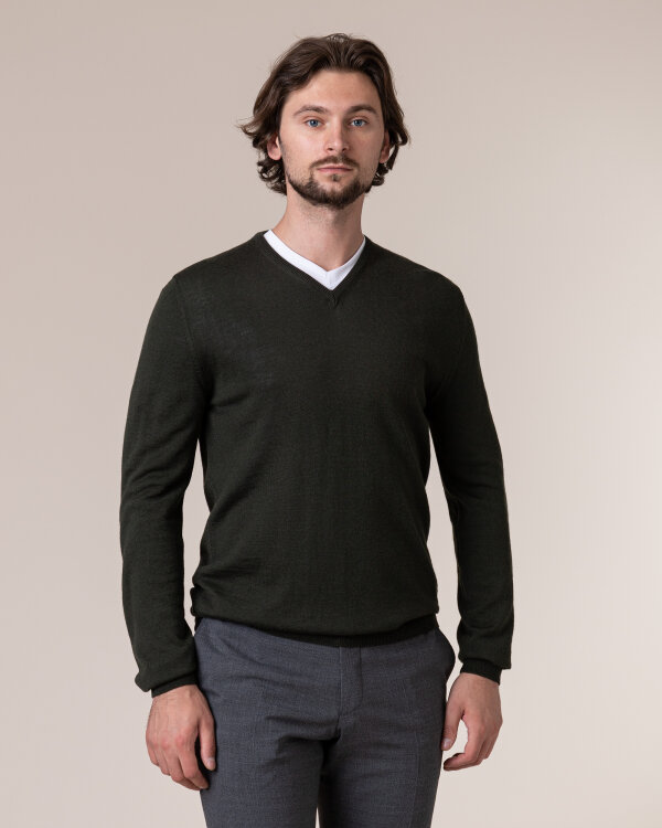 Sweter Philip Louis NOS_02/5/GRE NOS_GREEN ciemnozielony