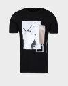 T-Shirt Antony Morato MMKS01767_FA100144_9000 czarny
